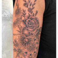 Tattoo Arten, Stile » Flowers
